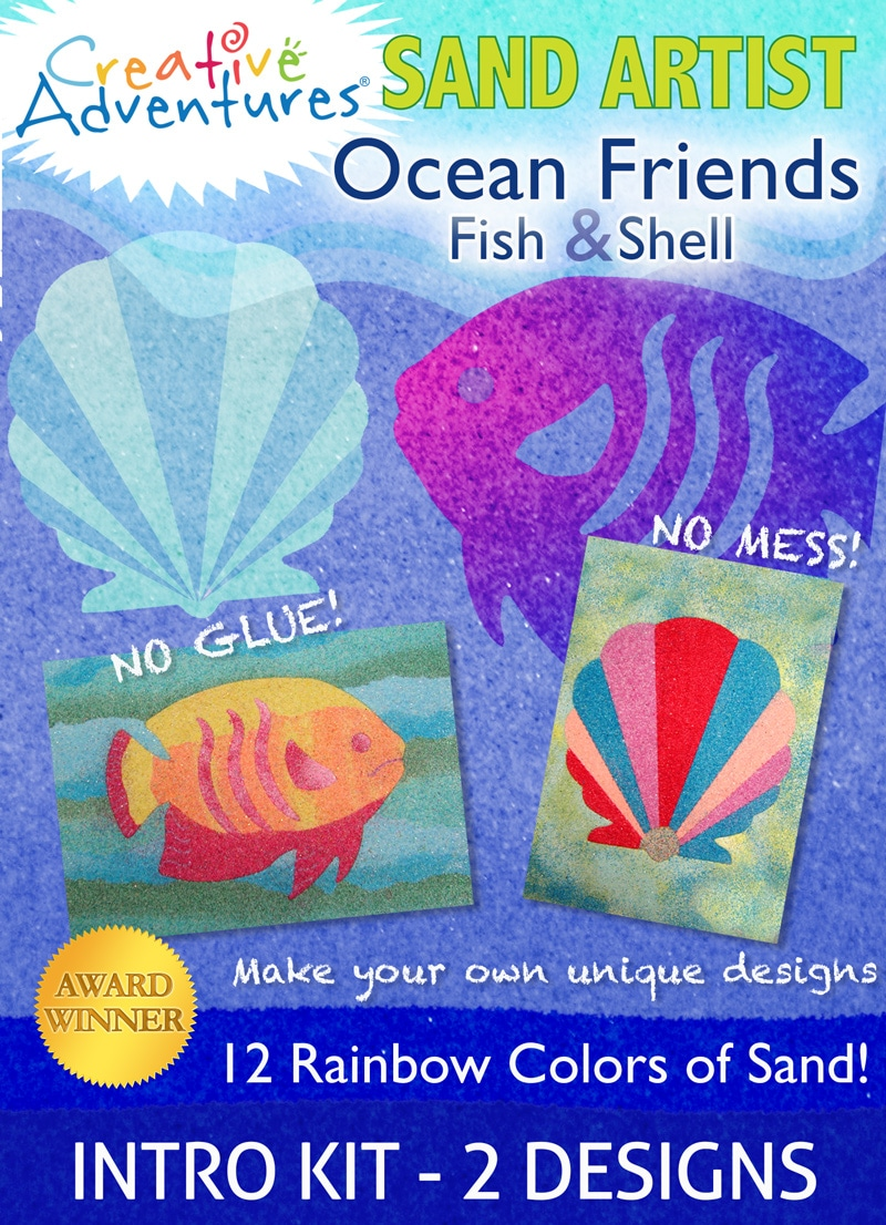 Ocean Friends Sand Art Kit