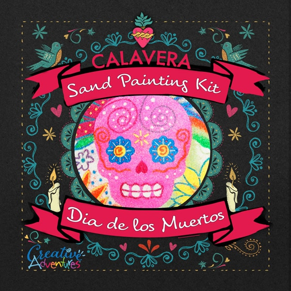 Day of the Dead Sand Art Kit